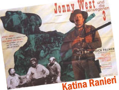 johnny west, affiche